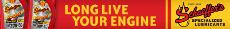 Schaeffer's Specialized Lubricants banner ad